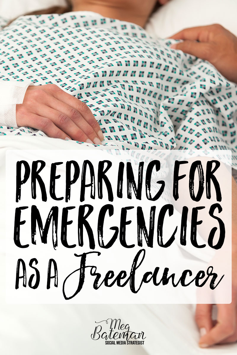 Preparing for Emergencies as a Freelancer